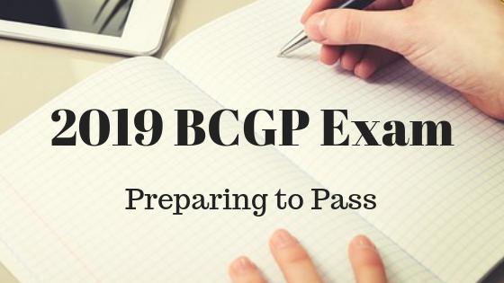 2019 bcgp exam