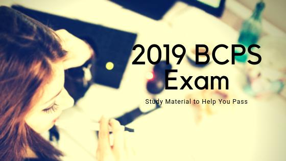 2019 BCPS Exam