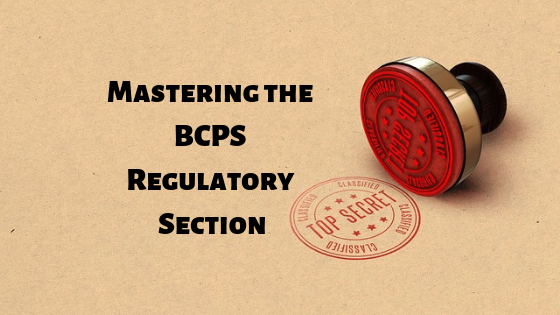 bcps regulatory section