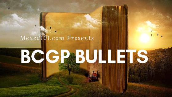 BCGP Bullets