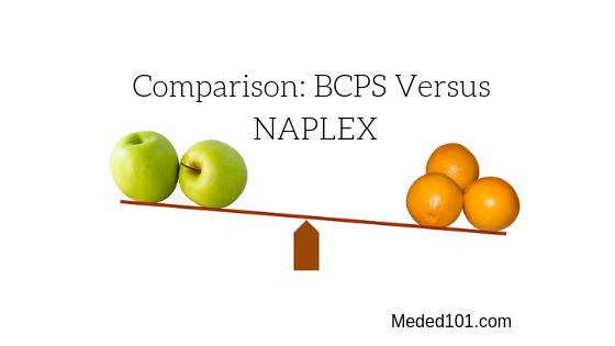 BCPS Versus NAPLEX