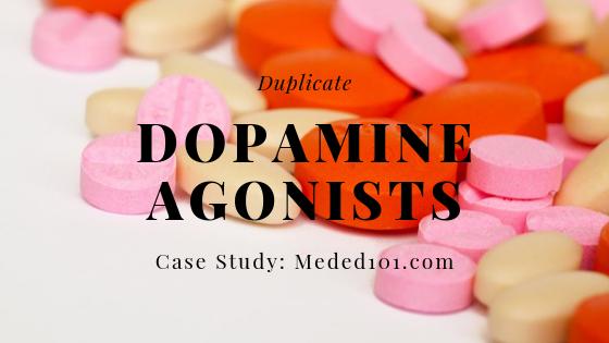 Duplicate dopamine agonists