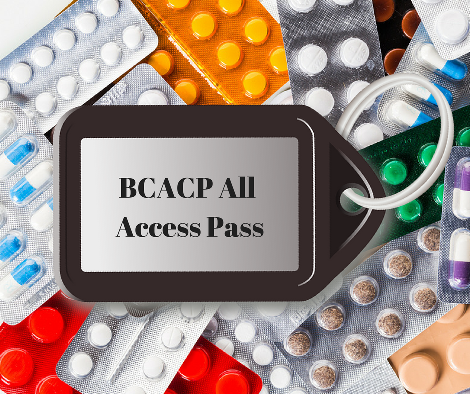 BCACP All Access Pass, BCACP exam study material