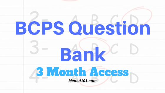 BCPS Question Bank 3 Month Access